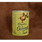 Korakundah Organic Oolong Tea 100g Brass Tin - New Packing